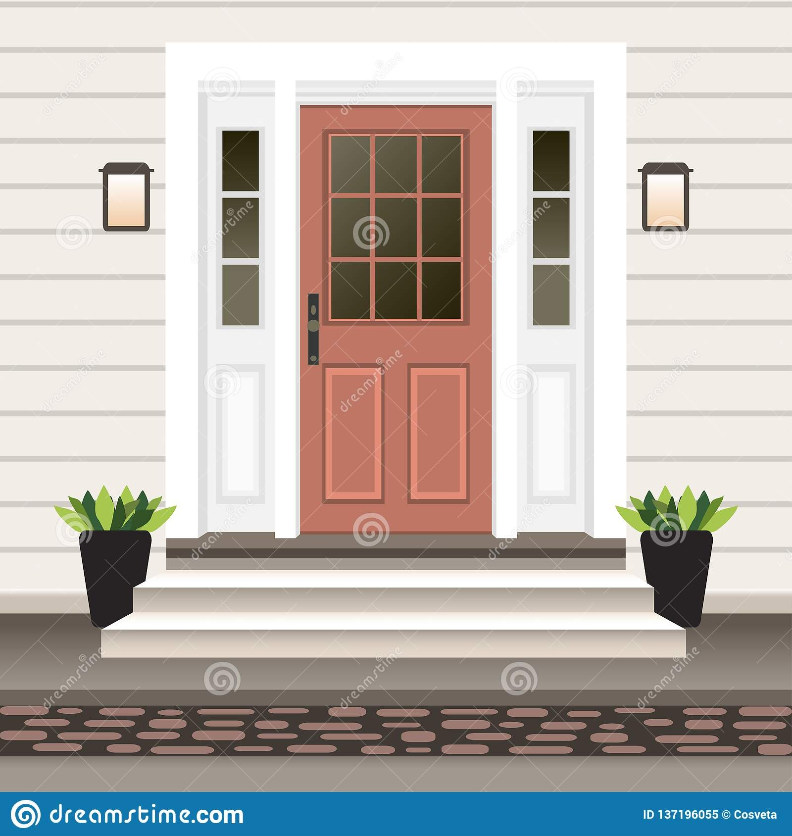 Door Exterior Stock Illustrations – 43 950 Door Exterior Stock | House Front Step Design | Aspen Designer Home | Simple | Mansion | Curved | Entrance Home