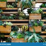 House Plant Wall Decoration Indoor Plants On The Wall Room Plant Pots Wall Decoration Stock Image Image Of Plant Apartment 163554869