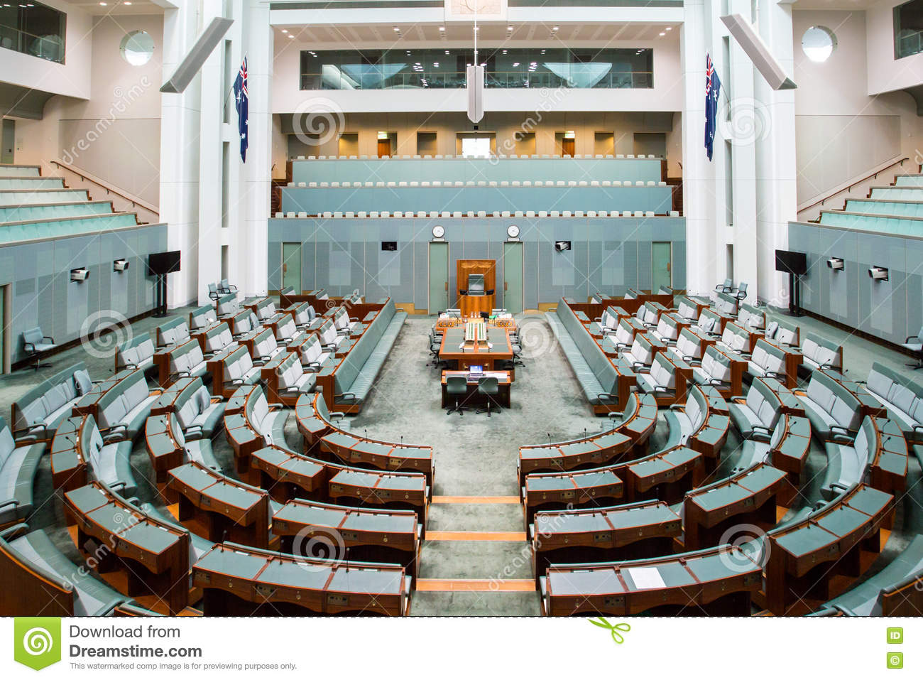 The House Of Representatives Stock Image