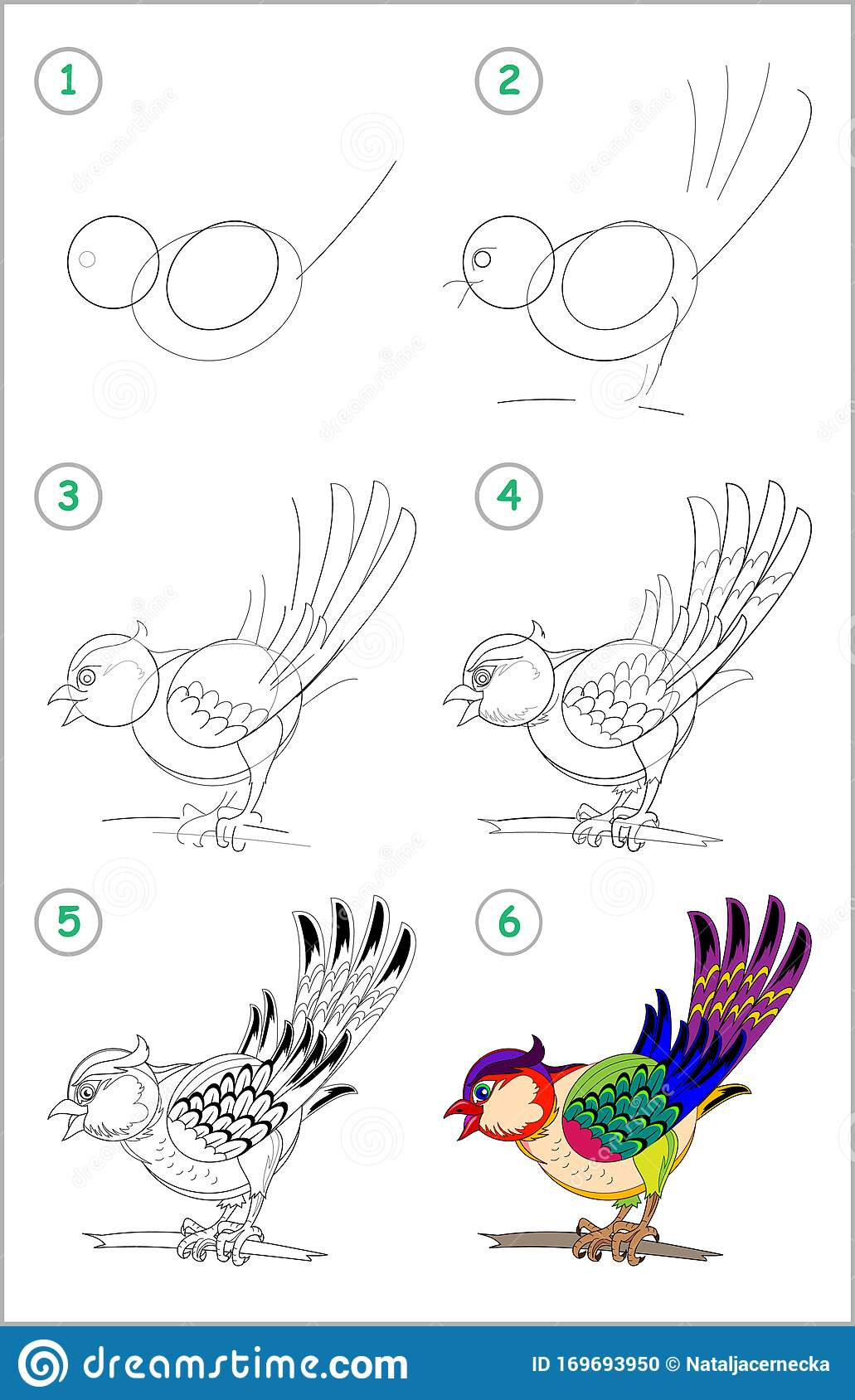 How To Draw Step By Step A Cute Little Toy Tiger
