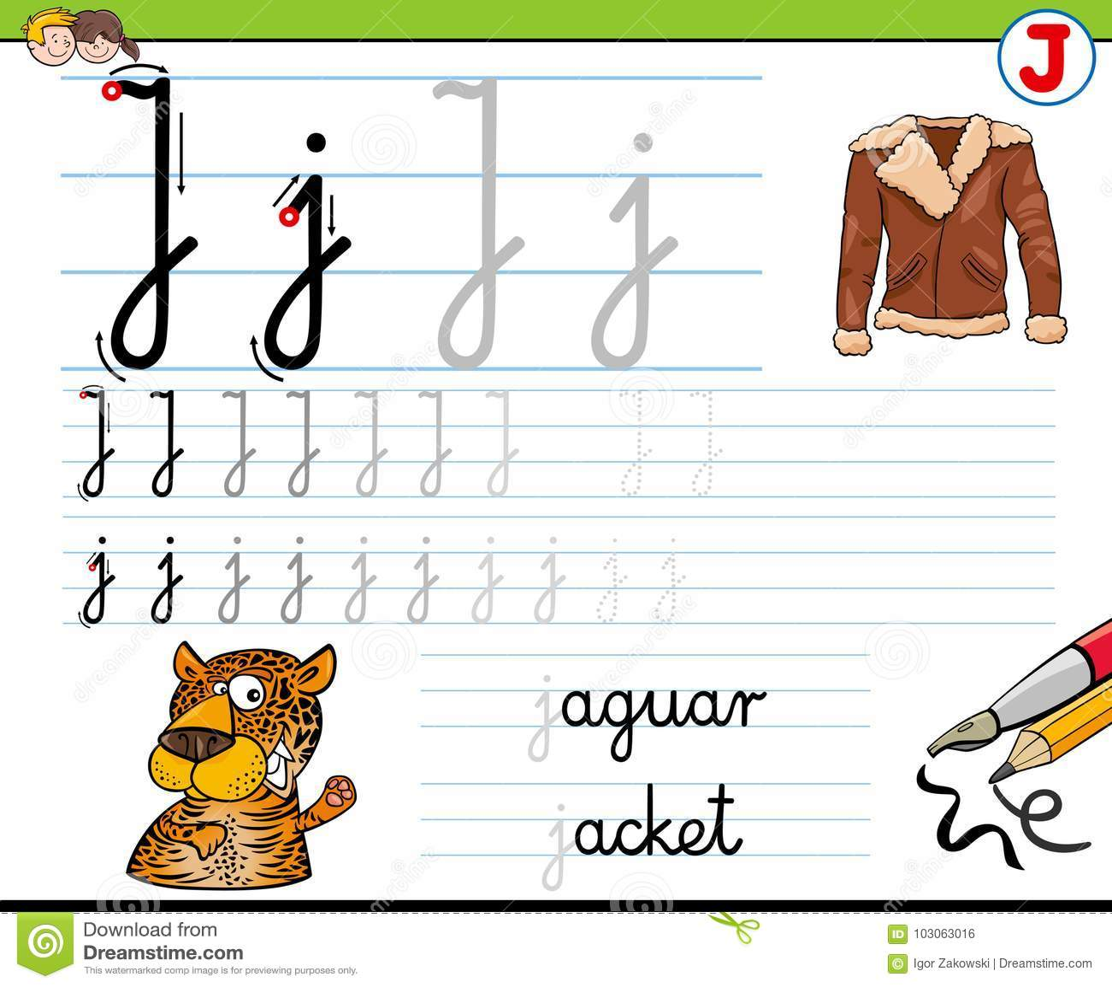 Cartoon Writing Worksheets