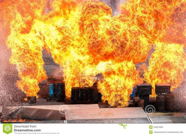 Huge explosion stock photo Image of explosion ignite