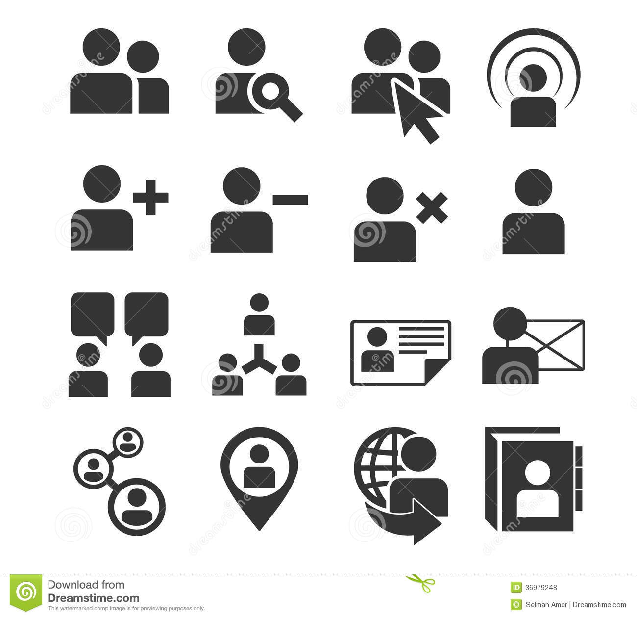 Human Resources Service Icon