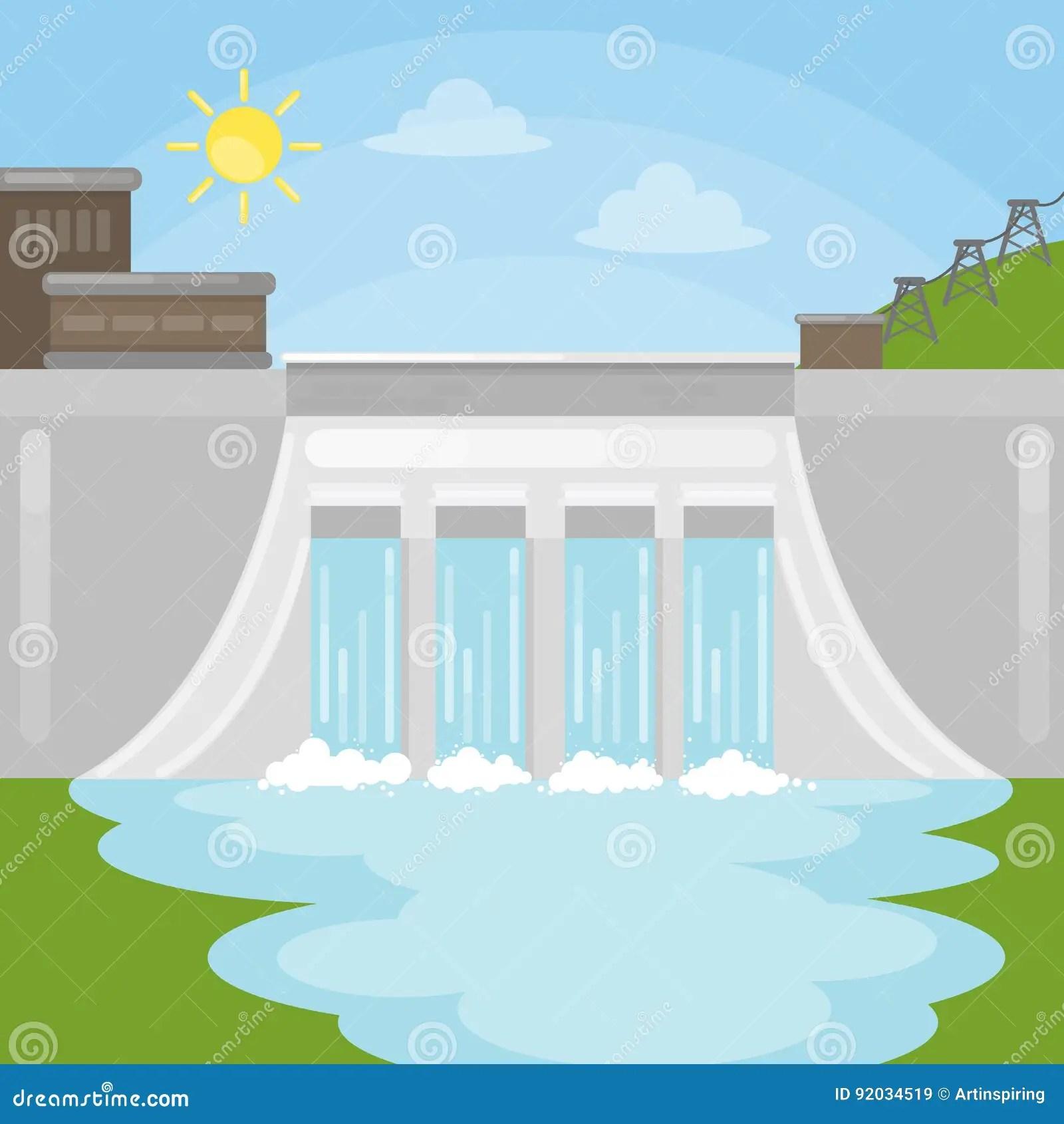 Dam Cartoons Illustrations Amp Vector Stock Images