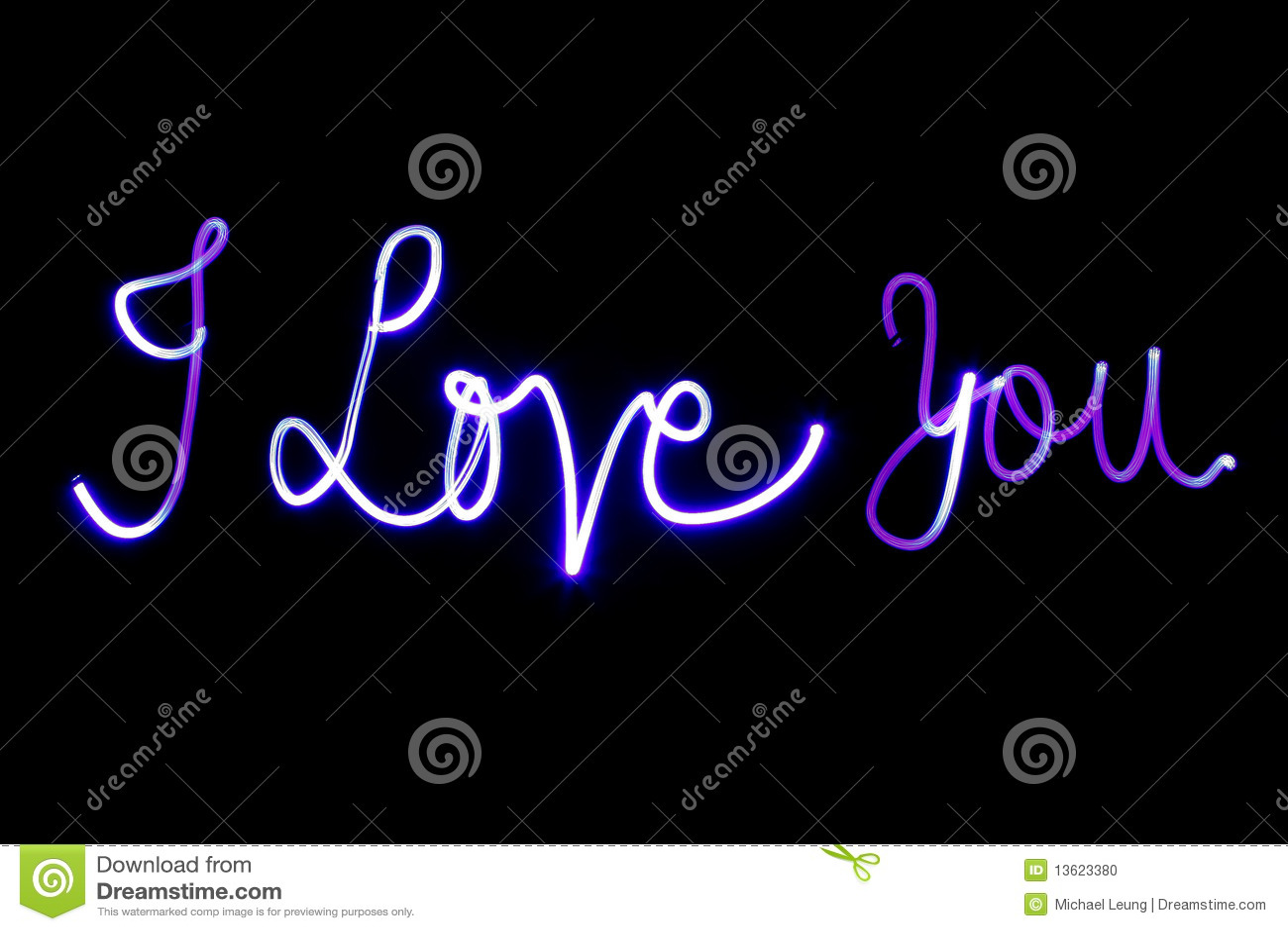 I Love You Stock Photo Image Of Handwritten Word