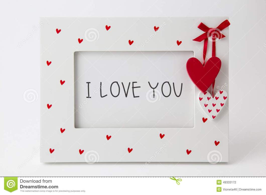 I Love You Picture Frame | Bestpicture1.org