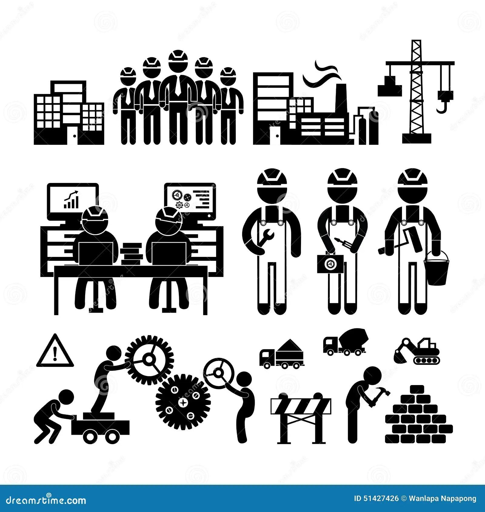 Icono De La Ingenieria Ilustracion Del Vector