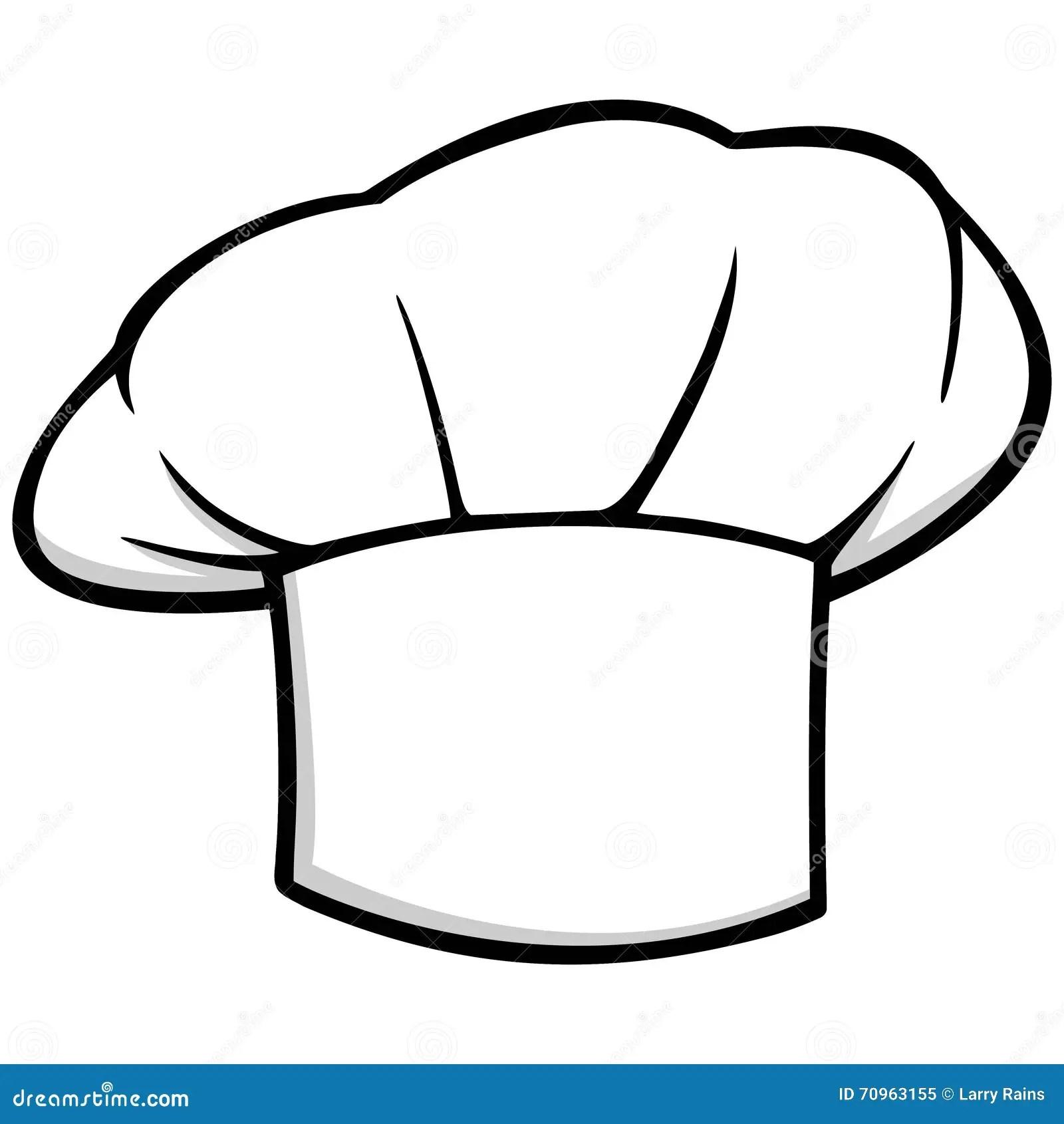Icono Del Sombrero Del Cocinero Ilustracion Del Vector