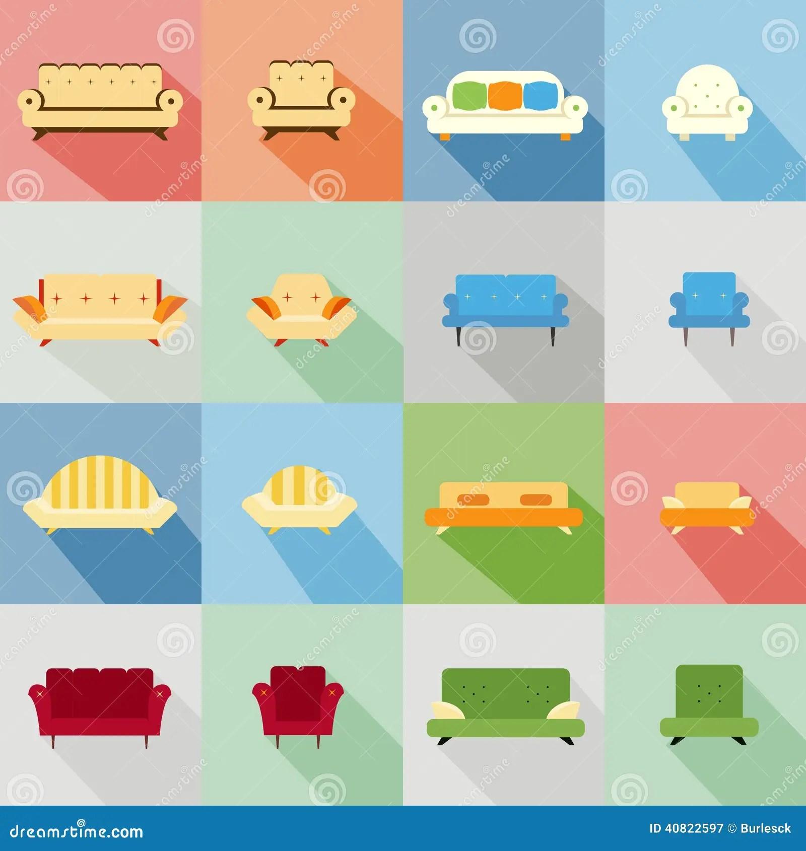 Different Designs Sofa Sets