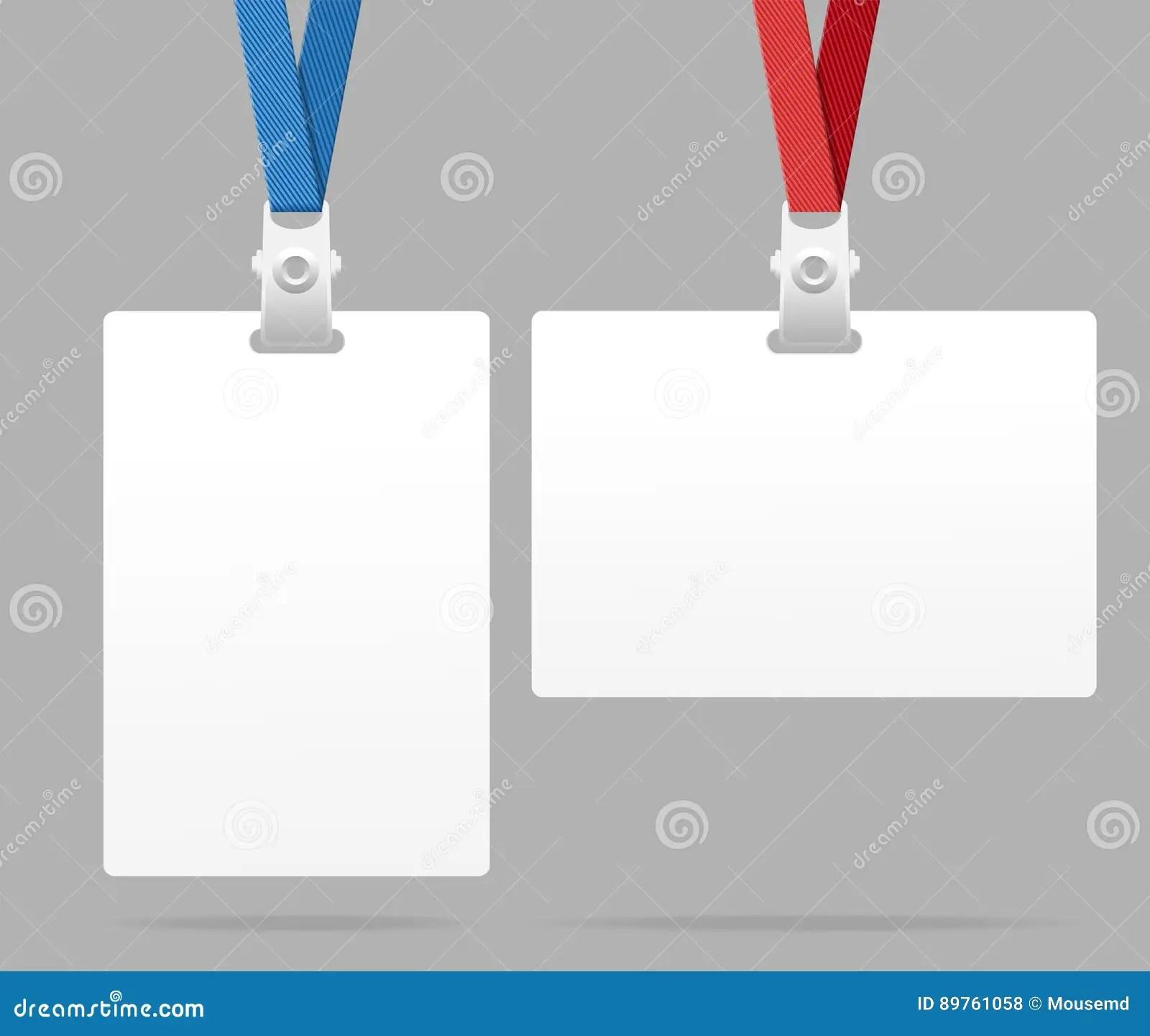 Fazer download do arquivo curta nossa página no facebook. Id Card Template Plastic Badge Vector Stock Vector Illustration Of Element Identity 89761058