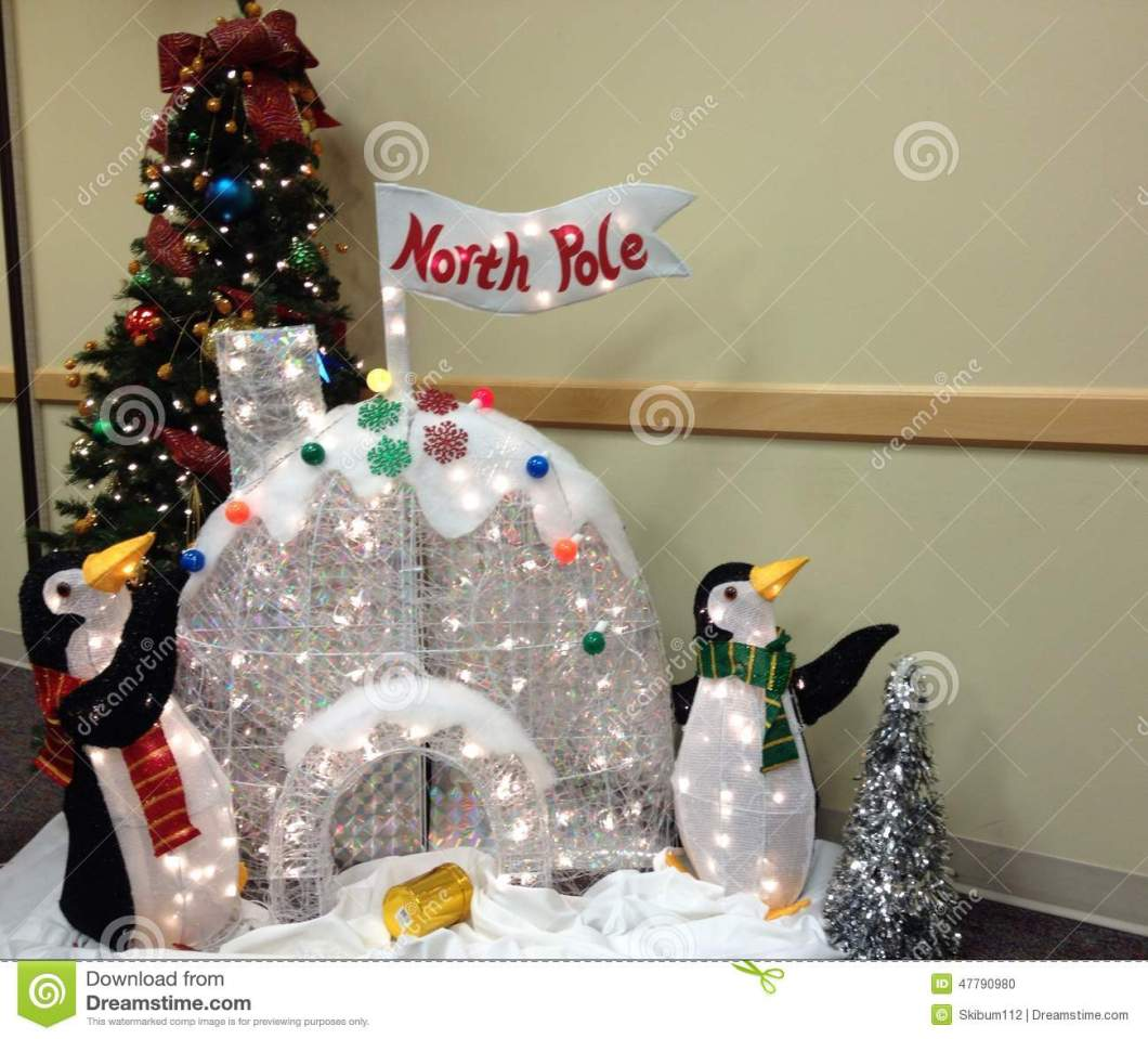 Penguin Igloo Christmas Decoration | Psoriasisguru.com