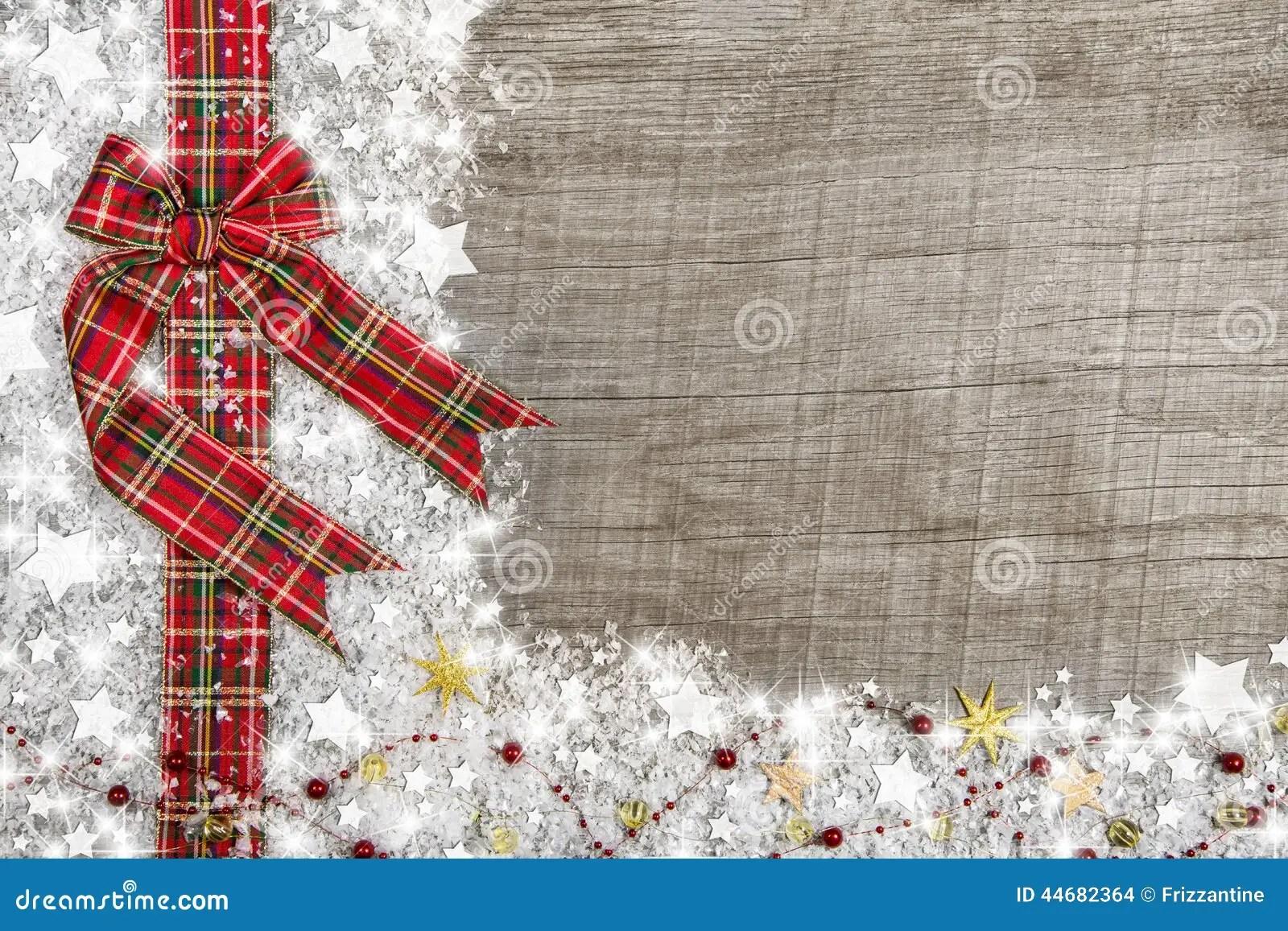 Il Fondo Stile Country Di Natale Con Verde Rosso Ha