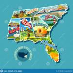 Southern States Map Stock Illustrations 480 Southern States Map Stock Illustrations Vectors Clipart Dreamstime