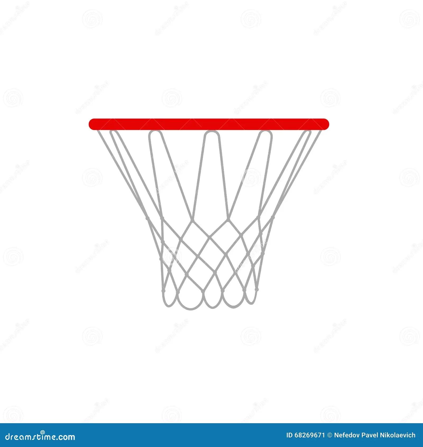 A Illustration Of A Basketball Rims Basketball Hoop