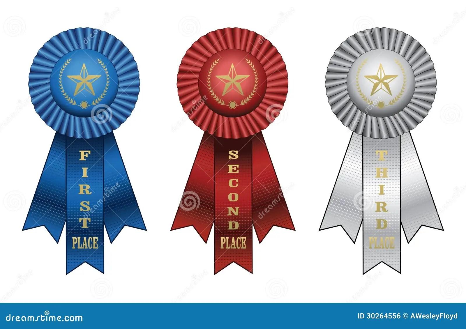 Award Ribbons Royalty Free Stock Image