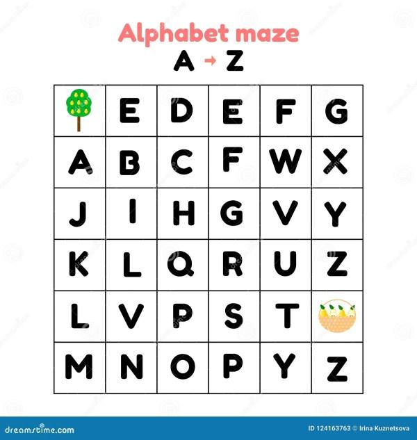 find the alphabet # 25