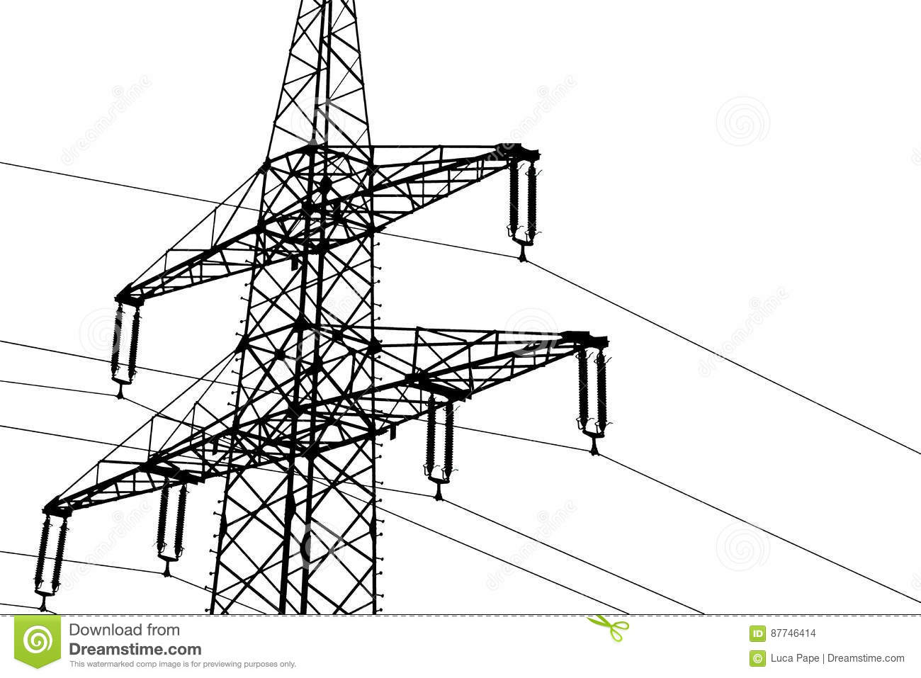 Powerline Cartoons Illustrations Amp Vector Stock Images