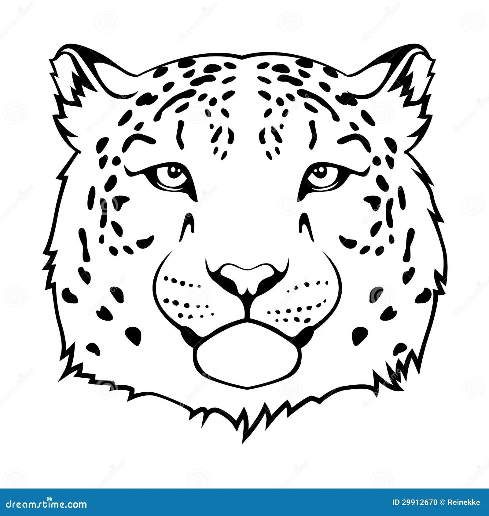 Tete De Jaguar Photo Stock