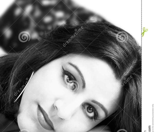 Indian Girl Ii Black And White