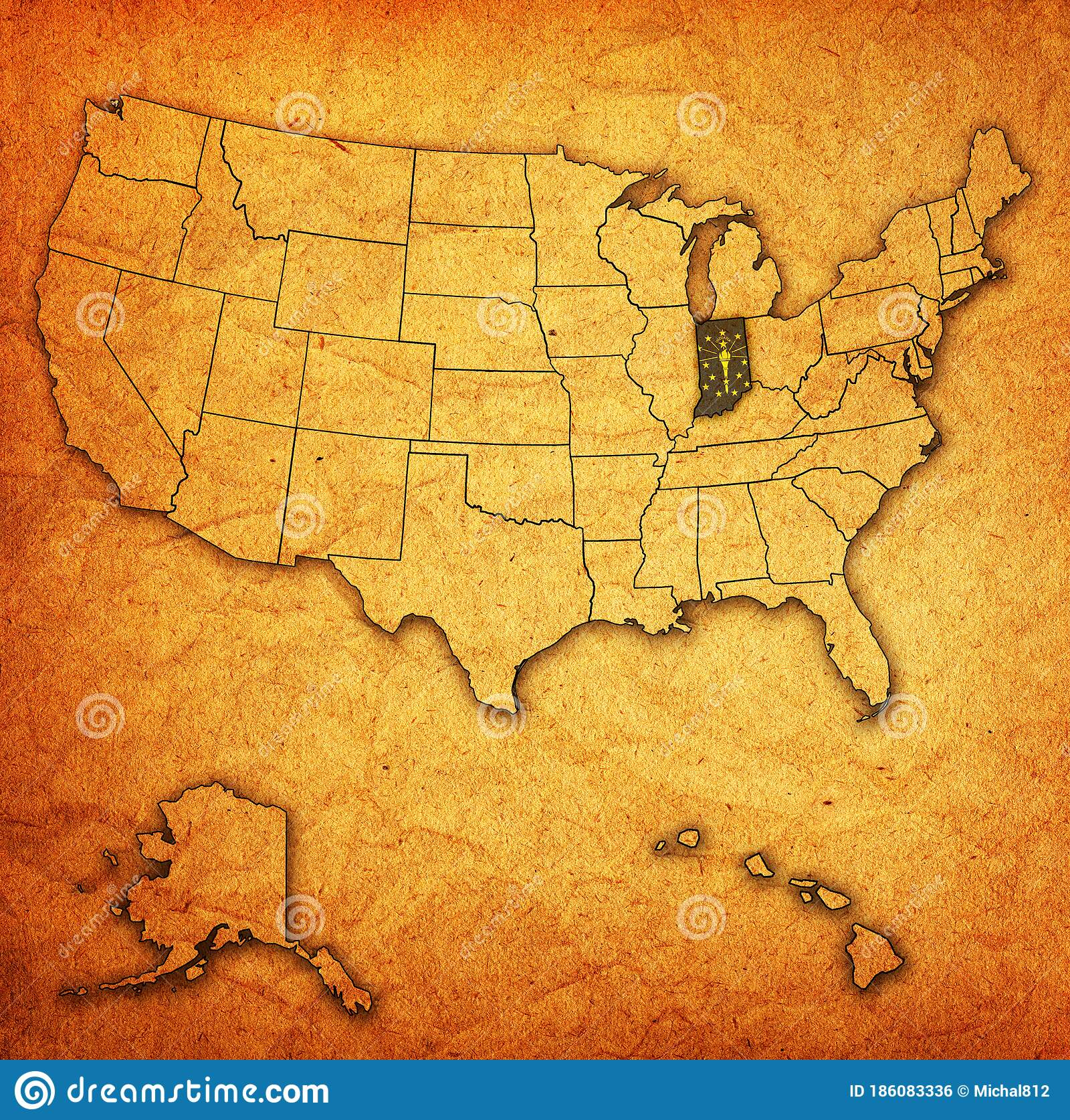 Large detailed map of indiana with cities and towns. 262 Indiana Map Photos Free Royalty Free Stock Photos From Dreamstime