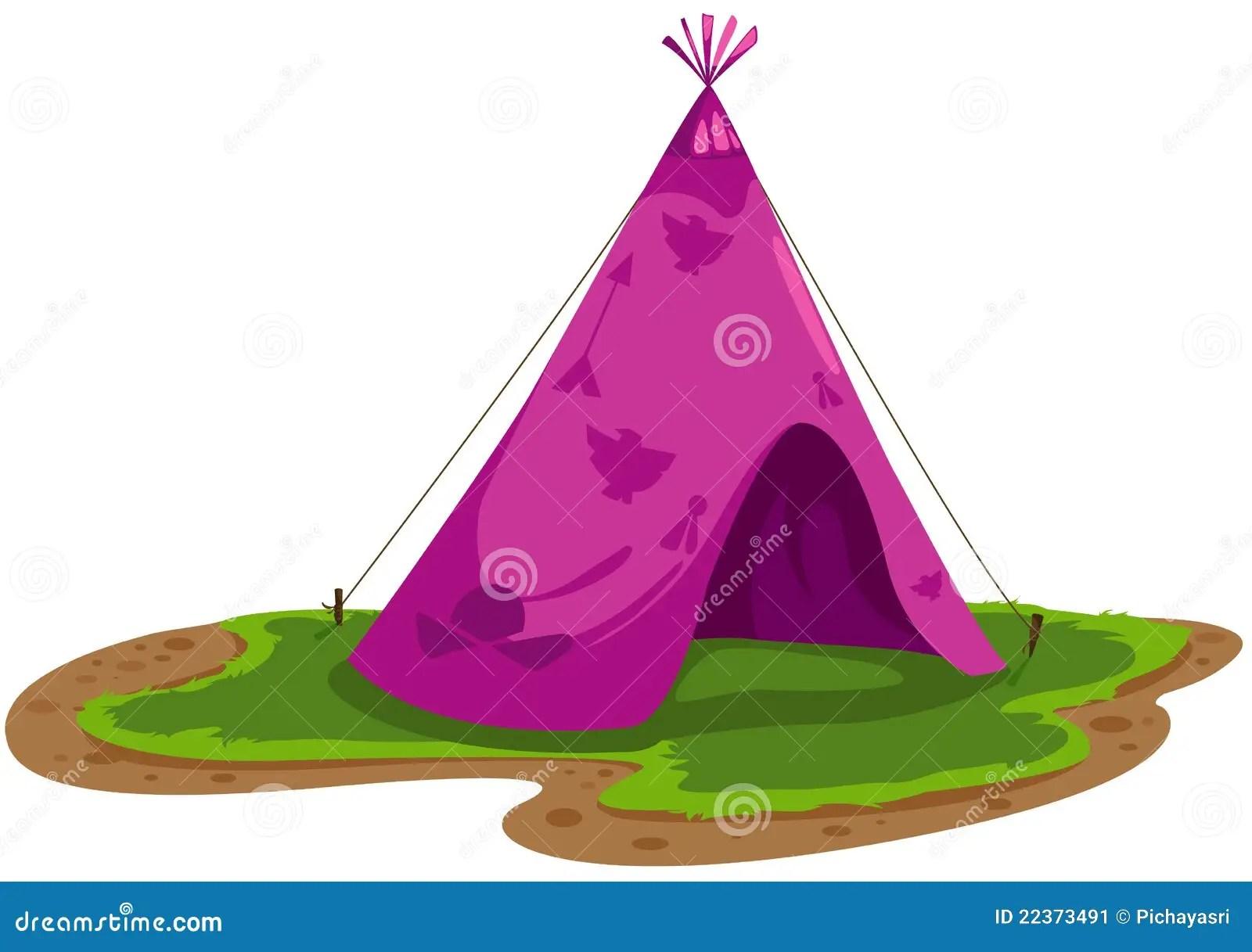 Cartoon Cherokee Indians
