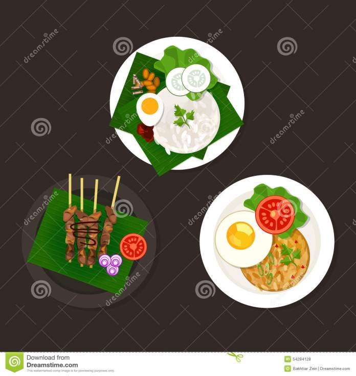 Food Indonesian Stock Illustrations 1 406 Food Indonesian Stock Illustrations Vectors Clipart Dreamstime