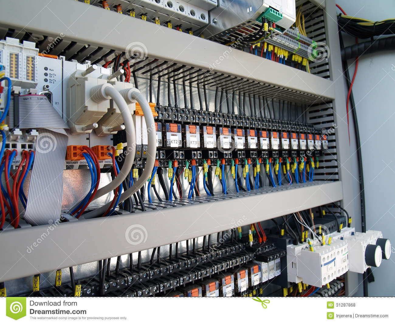 Industrial Electrical Equipment Stock Photo Image 31287868