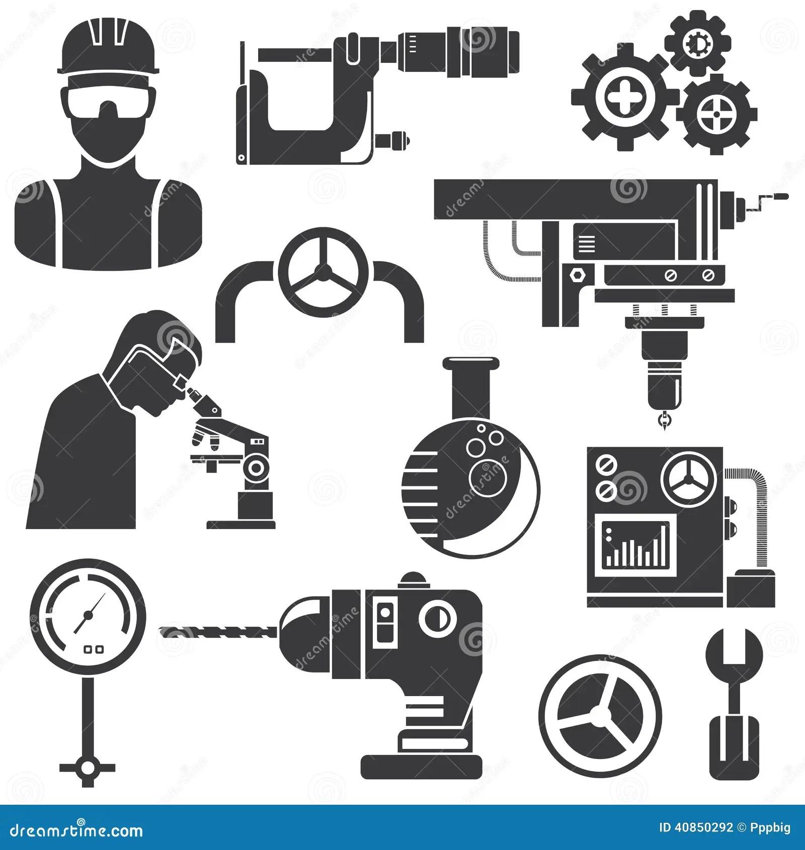 Industrial Engineering Stock Illustration Illustration Of