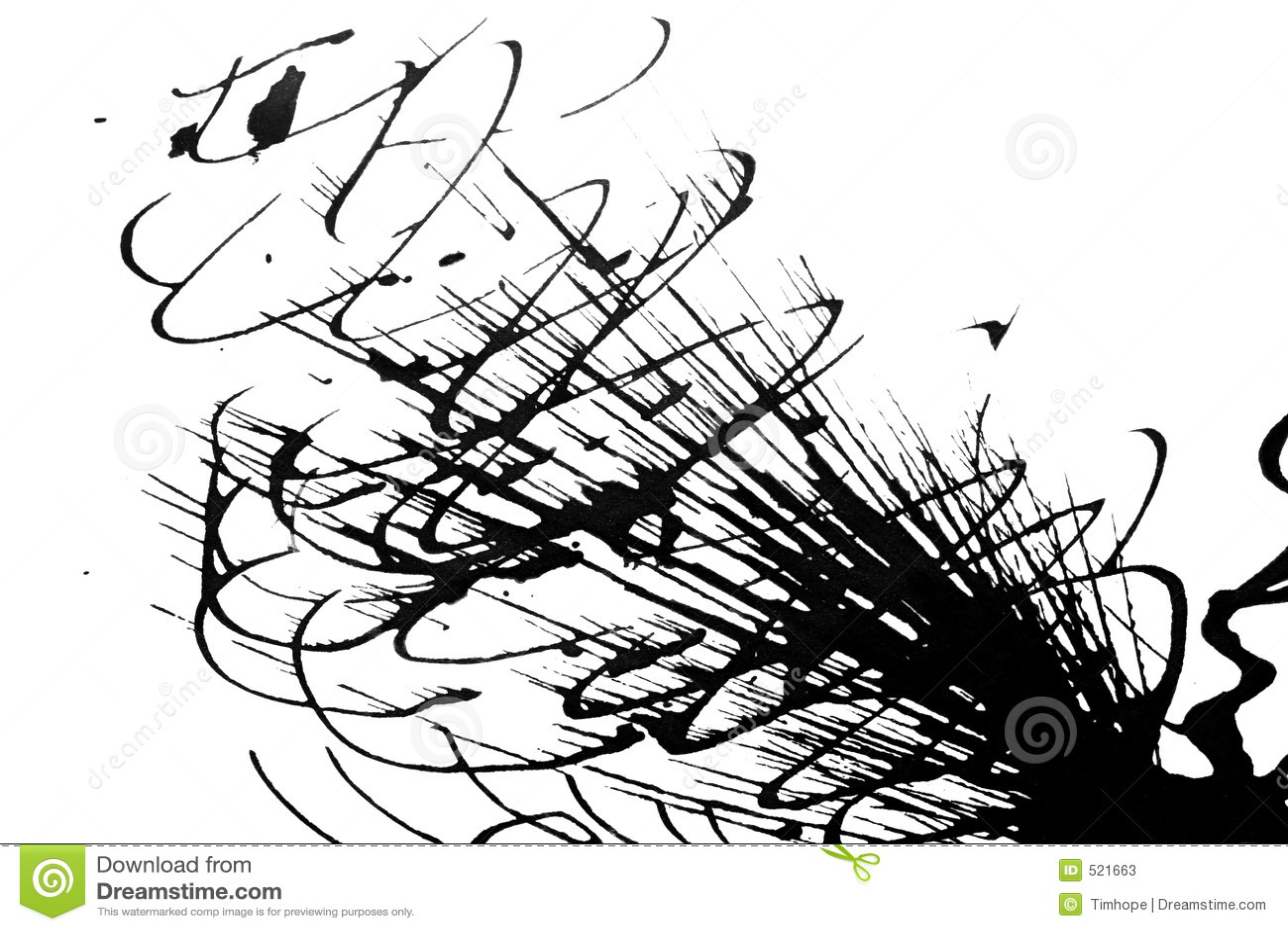 Ink Patterns Stock Illustration Illustration Of Splatter