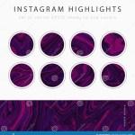 Instagram Highlight Covers Vector Stock Illustration Illustration Of Black Post 168284850