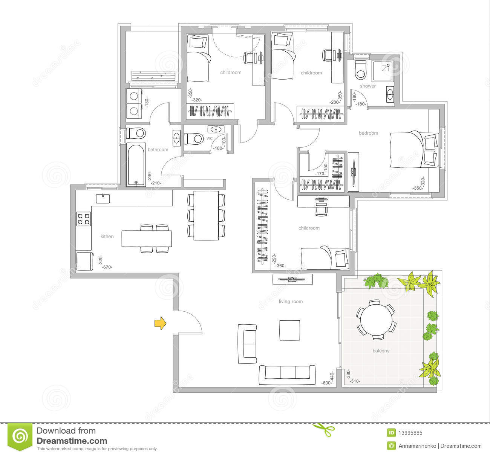 Interior Design Royalty Free Stock Photo Image 13995885