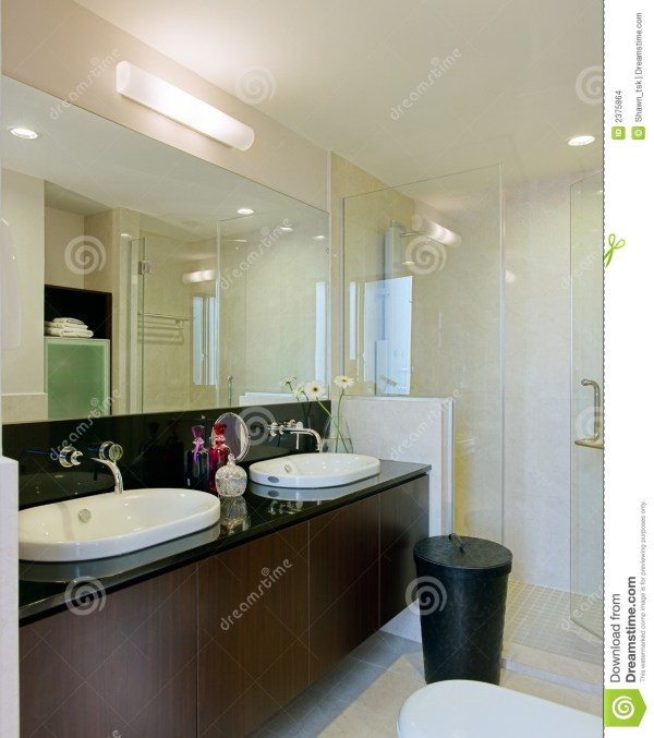 Interior design bathroom stock photo Image of cabinet