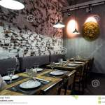 Interior Of A Thai Restaurant Editorial Photo Image Of Dinning Wooden 97617946