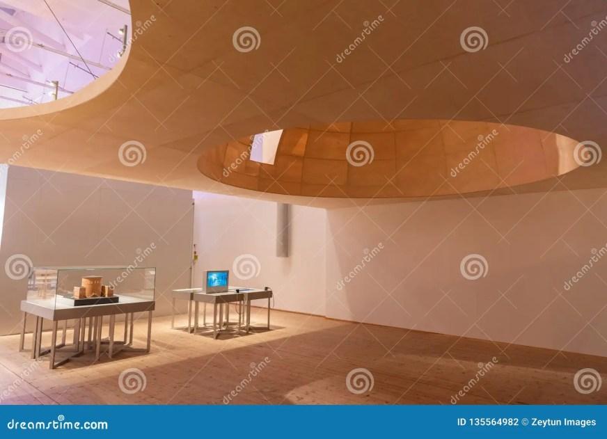 Interior View Of Moderna Museet Museum Of Modern Art In ...