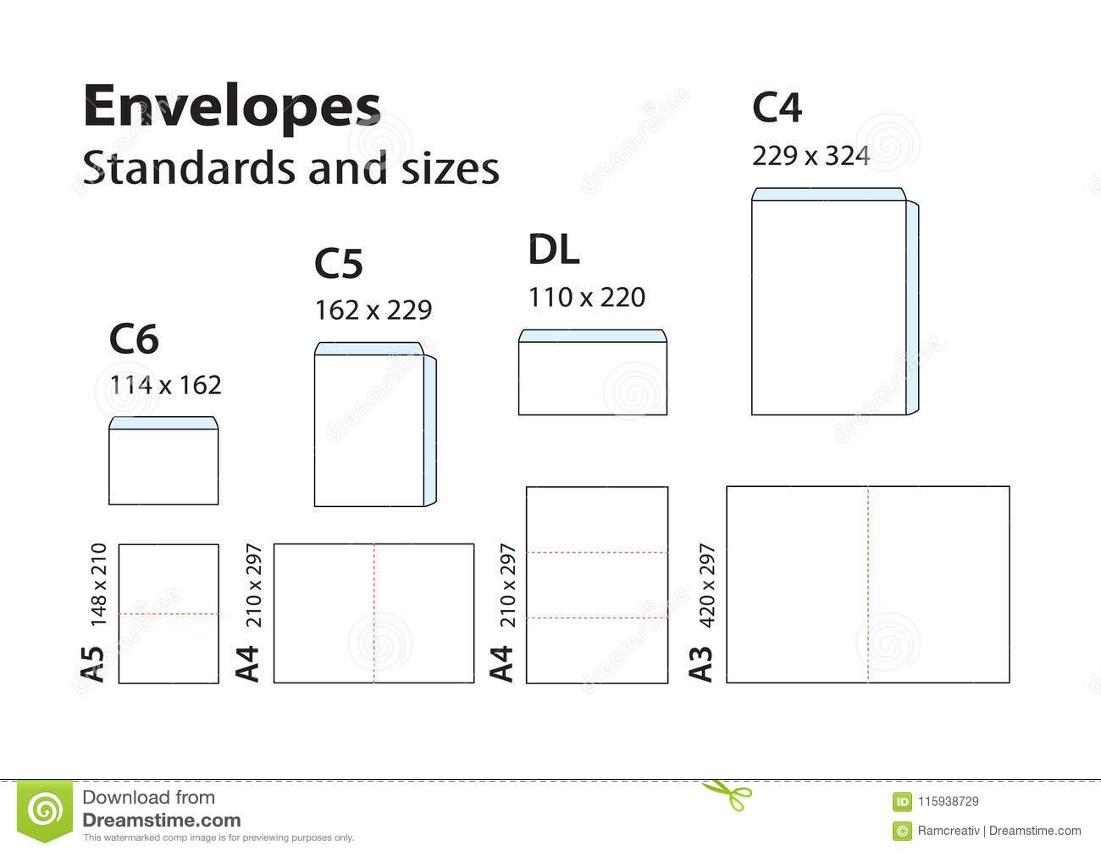 International Standard Envelopes For Paper Or Documents C6