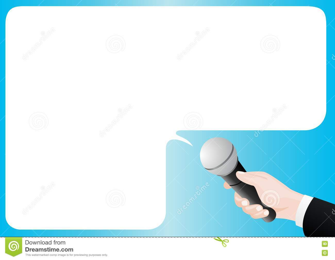 Interview Stock Vector Image Of Sleeve Illustration