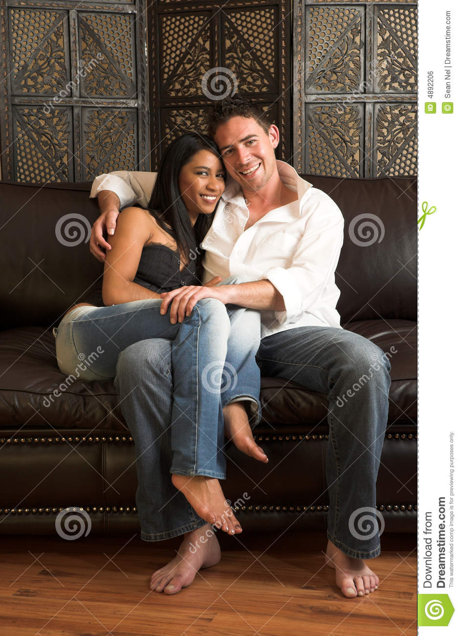 Intimate Lovers Embrace Royalty Free Stock Image Image