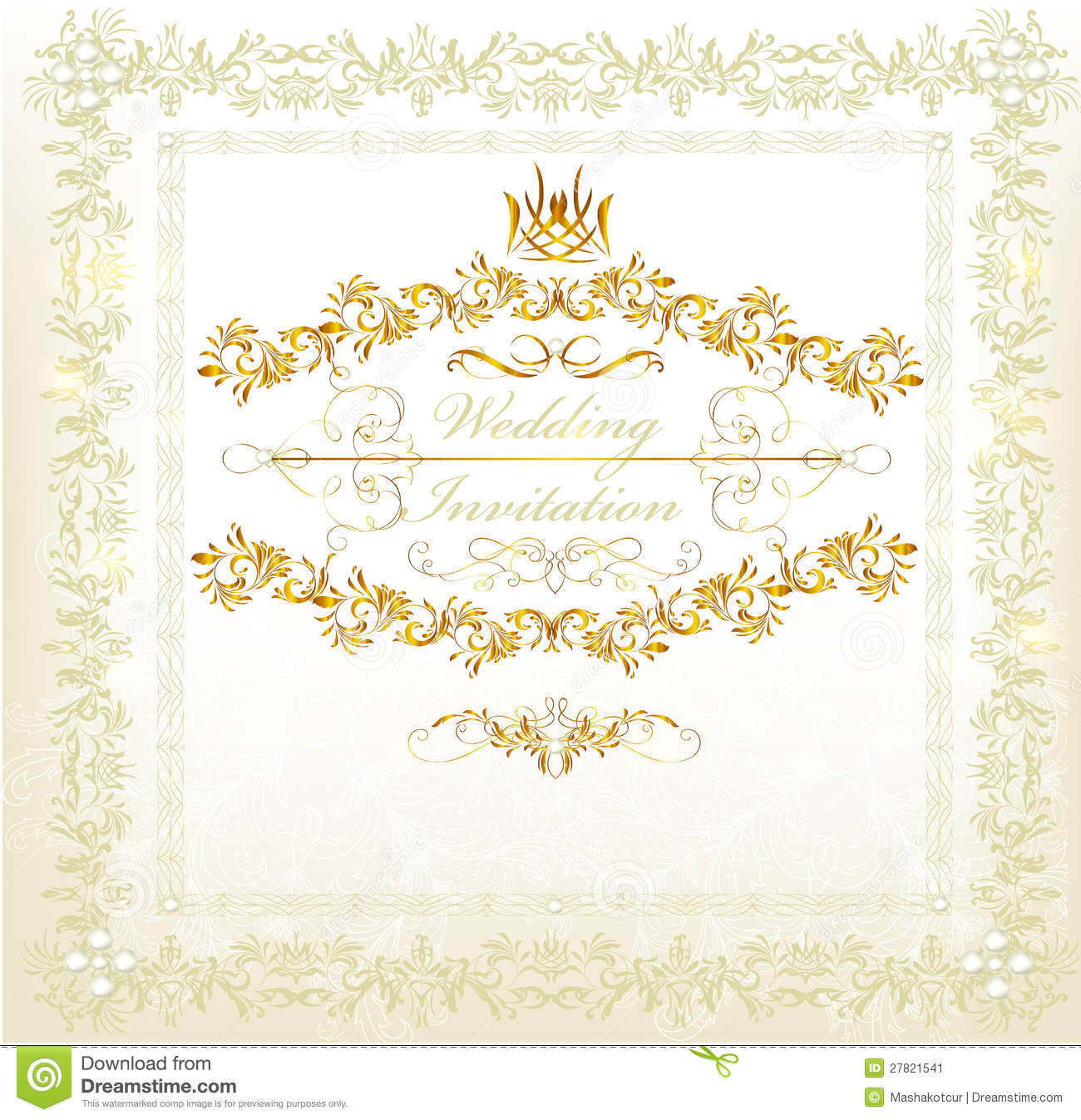 Marriage Invitation Card English