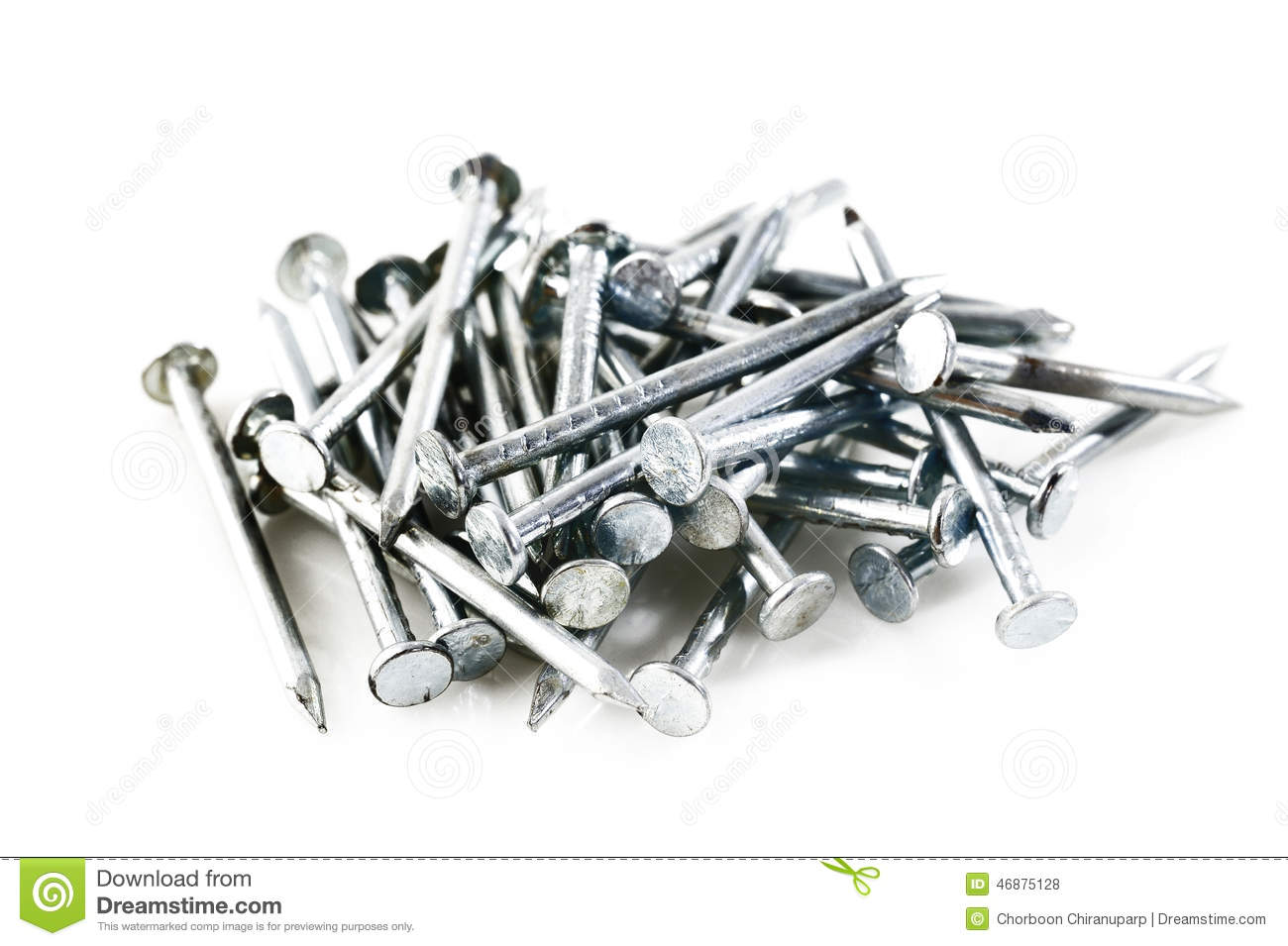 Iron Nails Royalty Free Stock Image