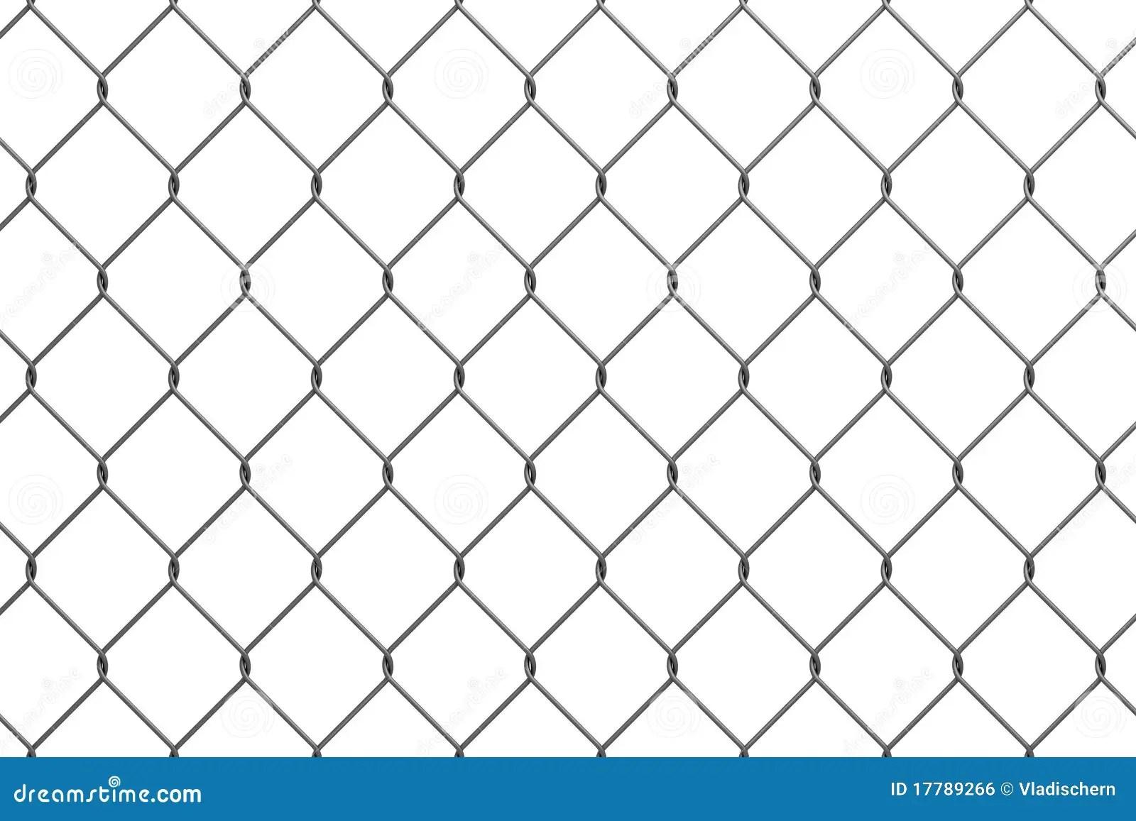 Iron Wire Fence Stock Illustration Image Of Metallic