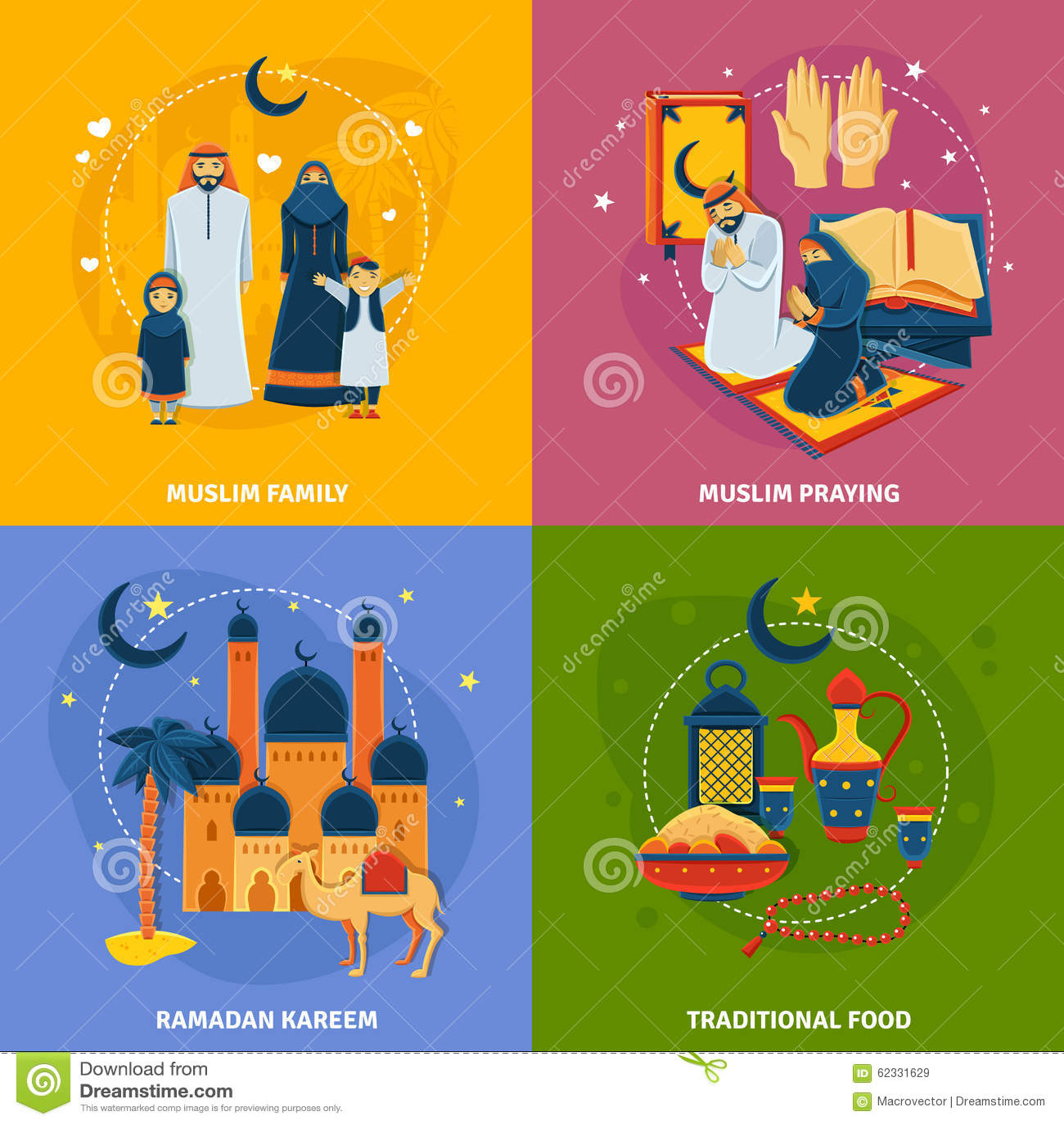 Ramadan Food Worksheet