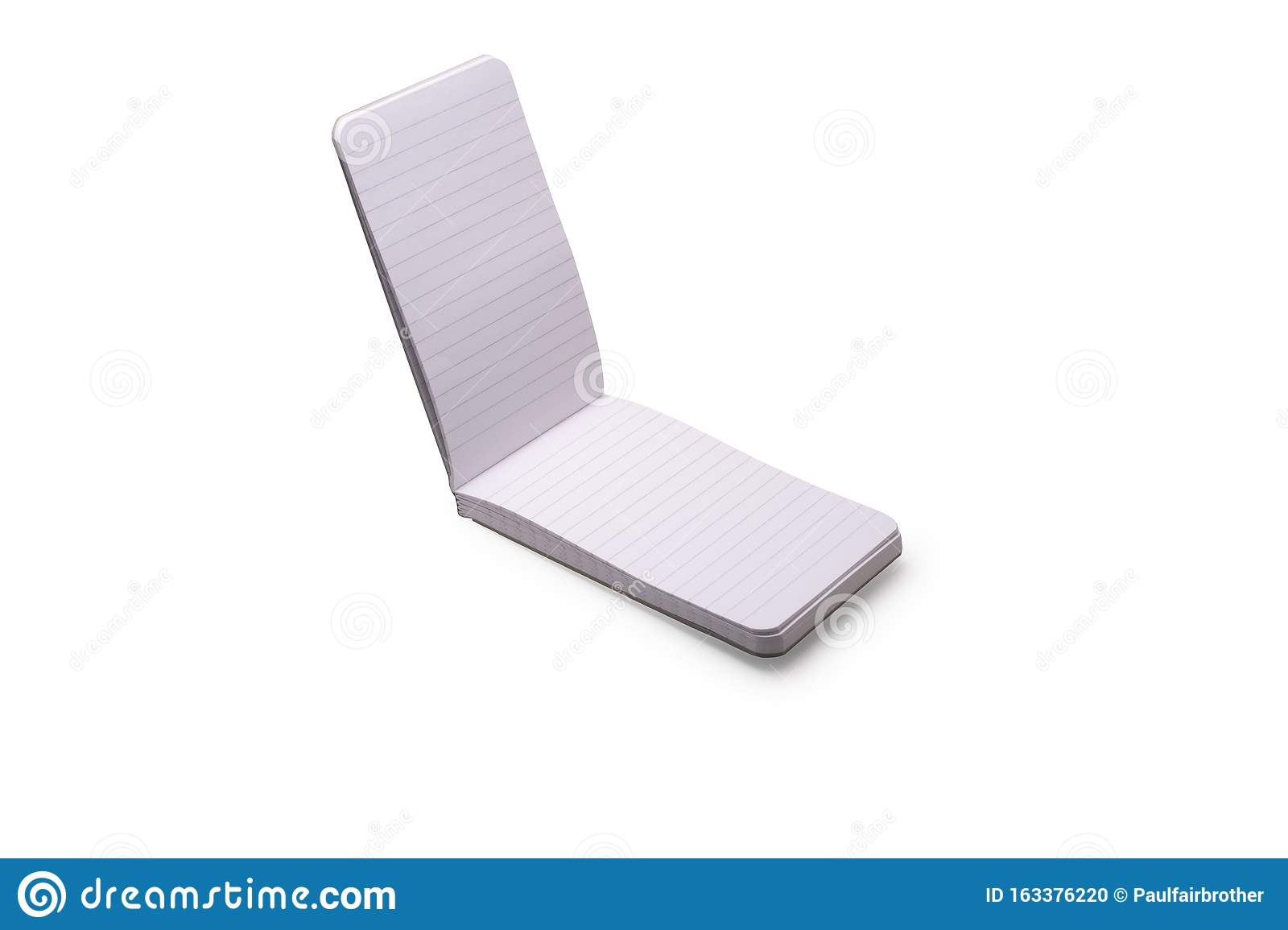 Isolated Notepad Stock Photo Image Of Copy Close