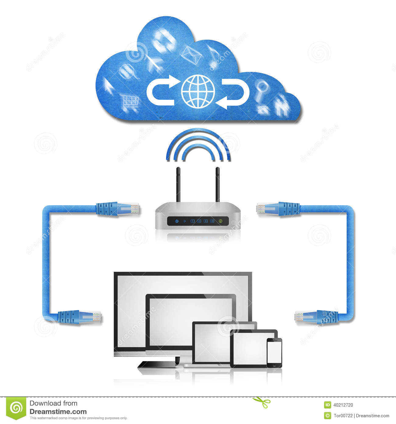 Modem Router Connection Diagram Detailed Schematic Diagrams Home Network With Switch And