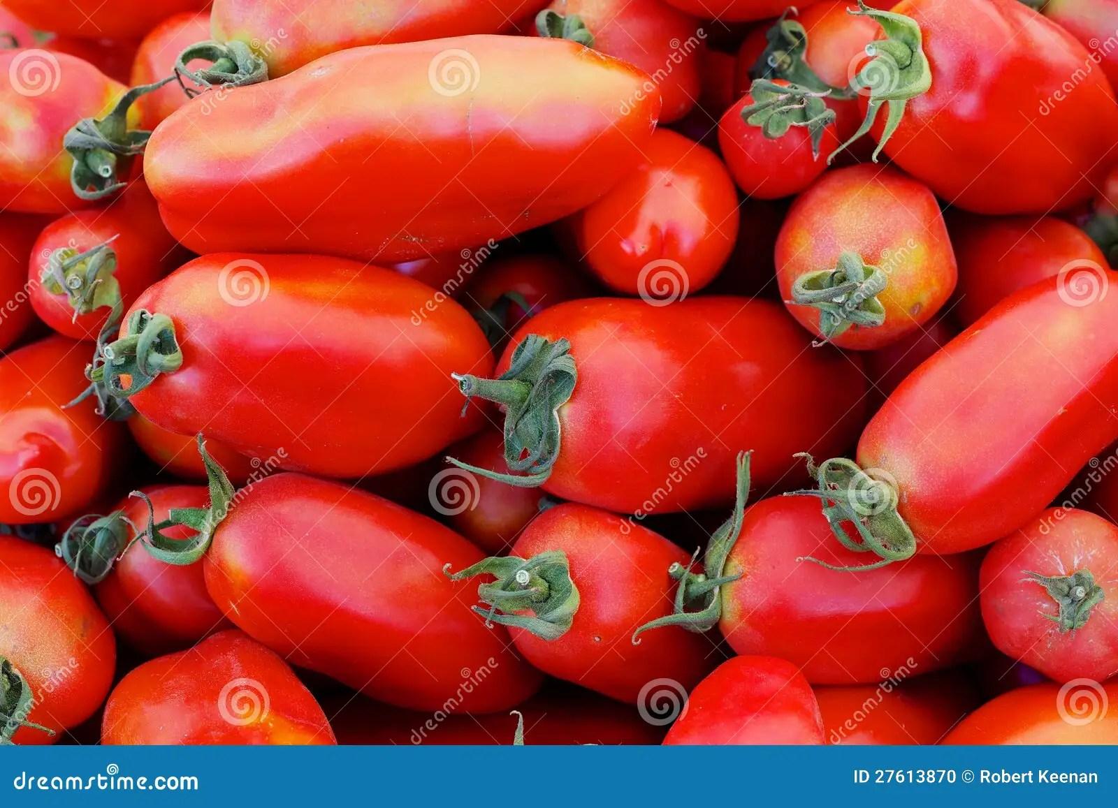 Italian Tomatoes Stock Photo - Image: 27613870