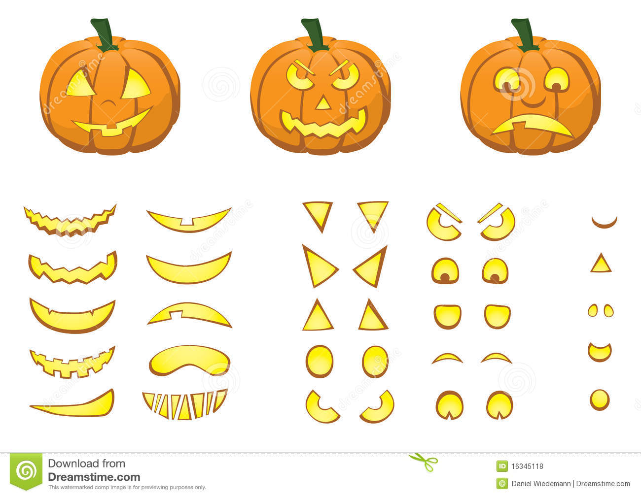 Jack O Lantern Stock Vector Illustration Of Evil Lantern
