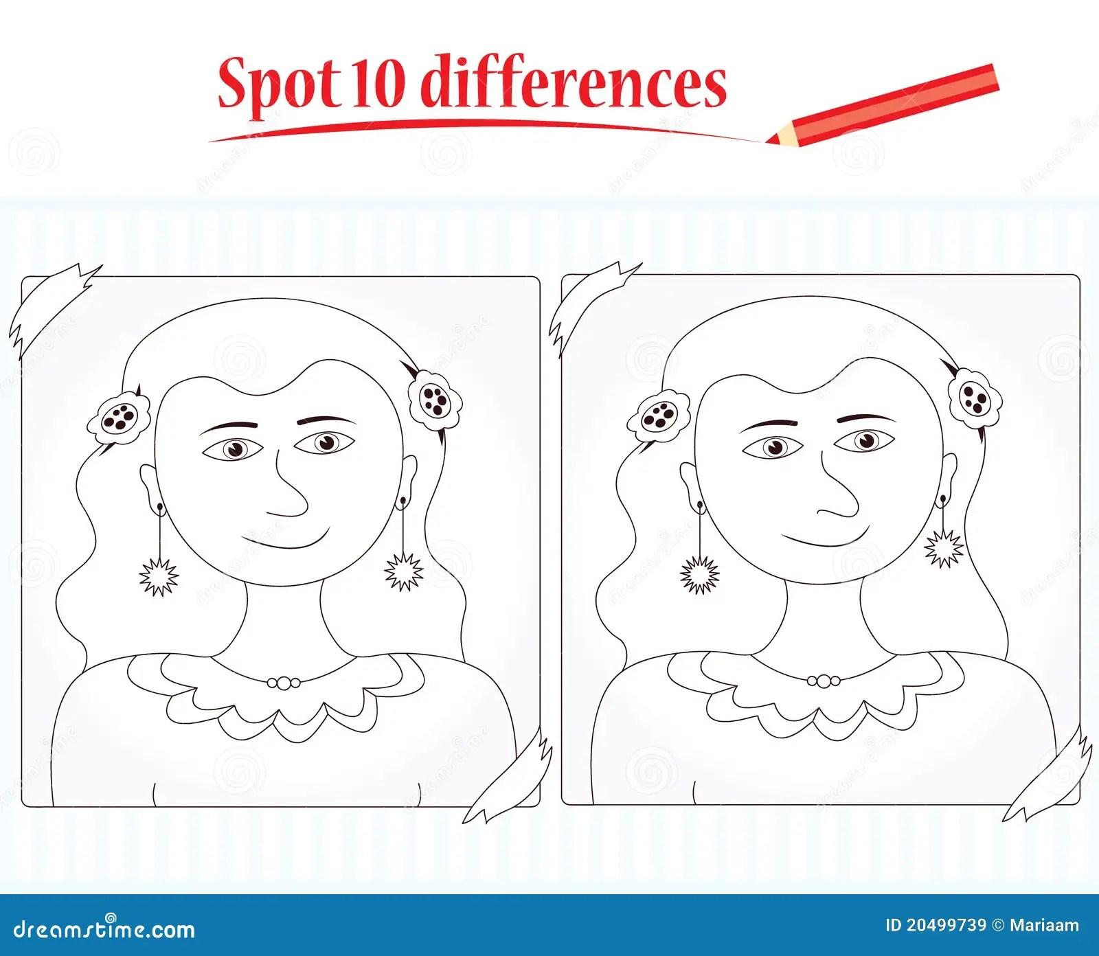 Jeu Pour Des Gosses Differences De L Endroit 10 Images