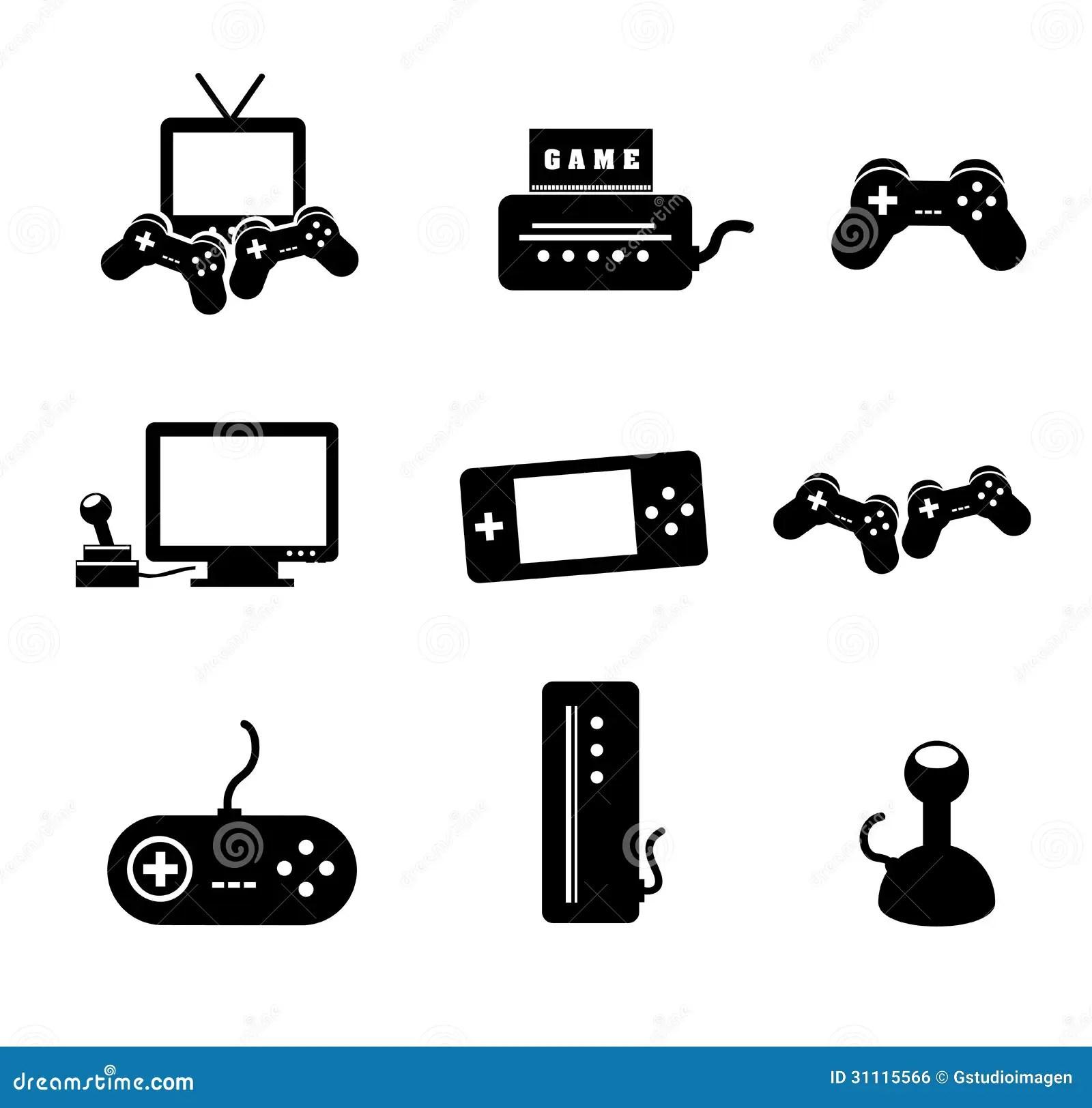 Jeux Video Illustration De Vecteur Illustration Du