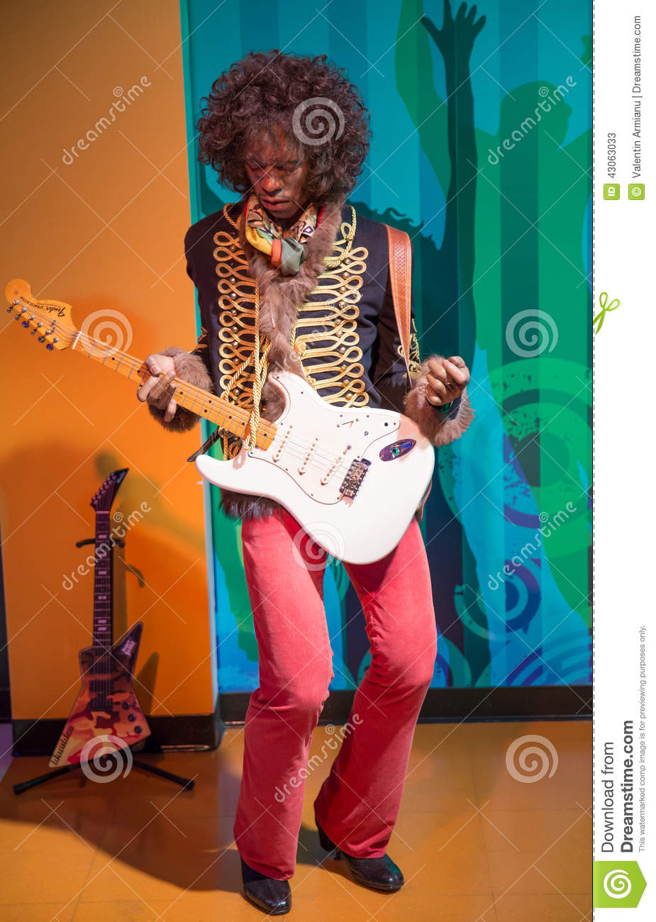 Jimi Hendrix Editorial Stock Photo Image 43063033