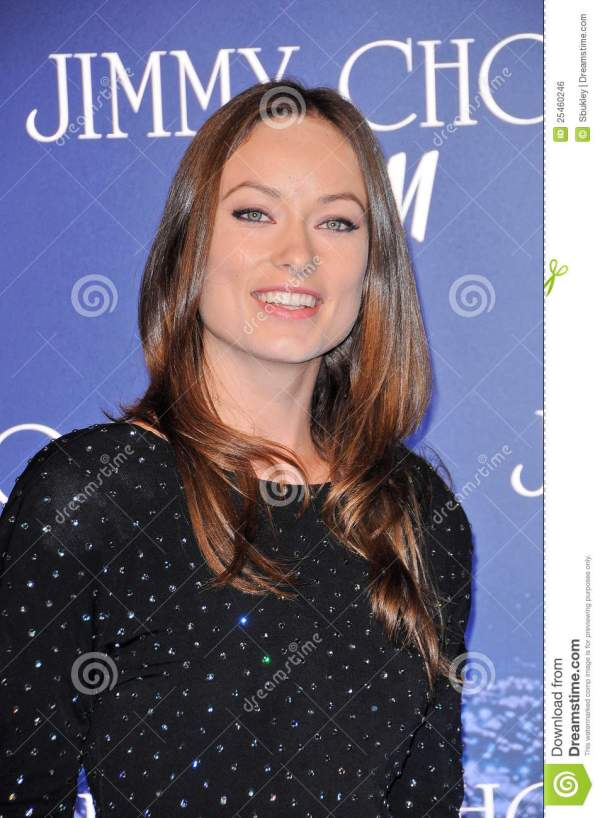 Olivia Wilde at the Jimmy Choo For H&M Collection, Private ...
