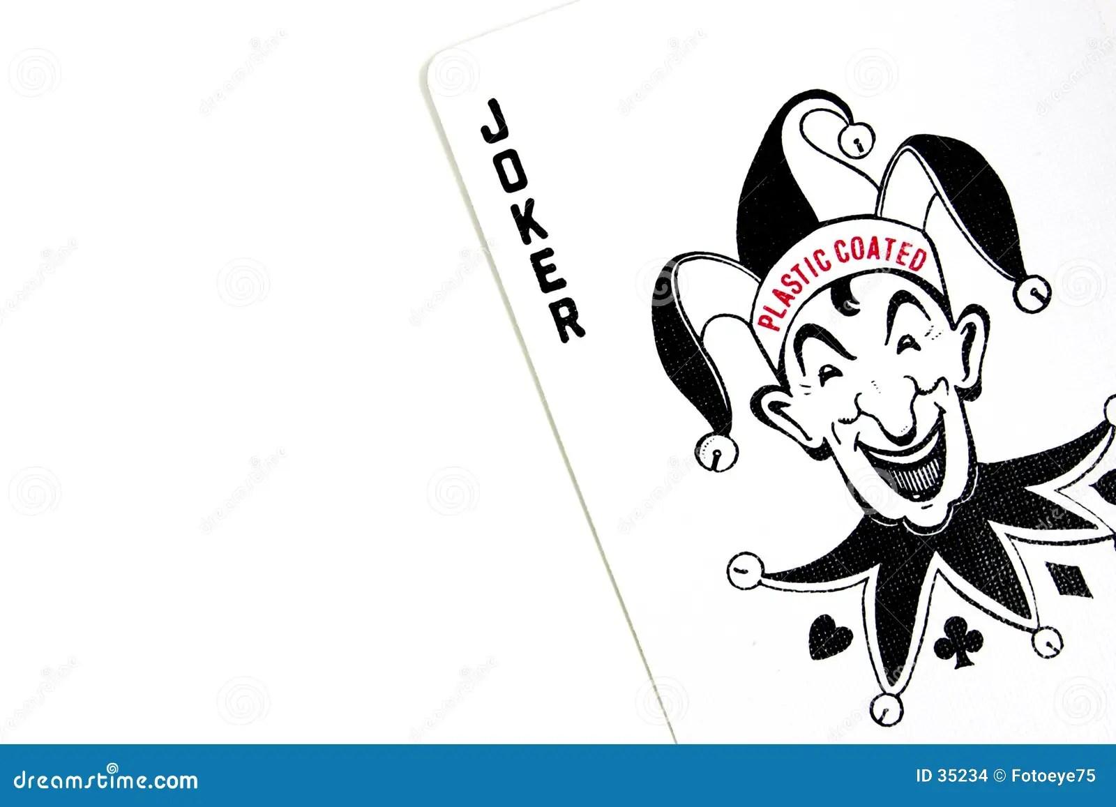Joker Playing Card Vector